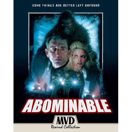 Abominable Blu-ray + DVD - 80's Movie Characters For Halloween
