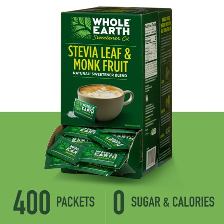 (400 Packets) Whole Earth Zero Calorie Sweetener