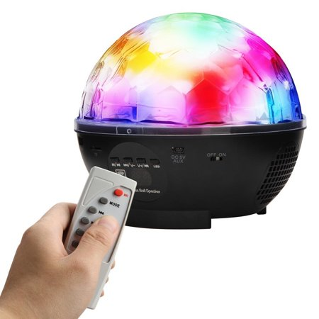 Portable Stage Lights With Remote Dj Bluetooth Speaker Led Disco Ball
