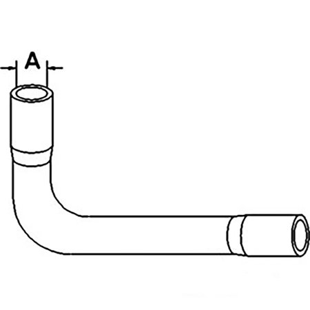 3065127R1 By-Pass Hose Made for Case-IH Tractor Models 275
