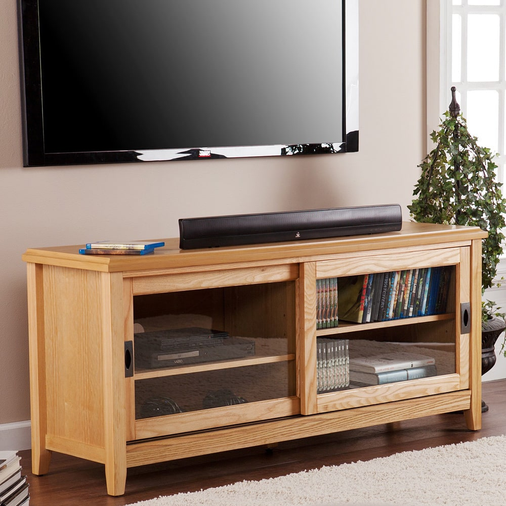 Harper Blvd  Elisa Natural Oak TV Stand