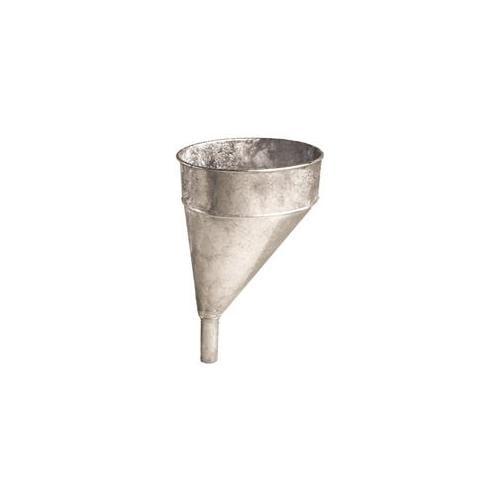 Please And Edelman Tomkins 6 Quart Galvanized Offset Funnel  75-002