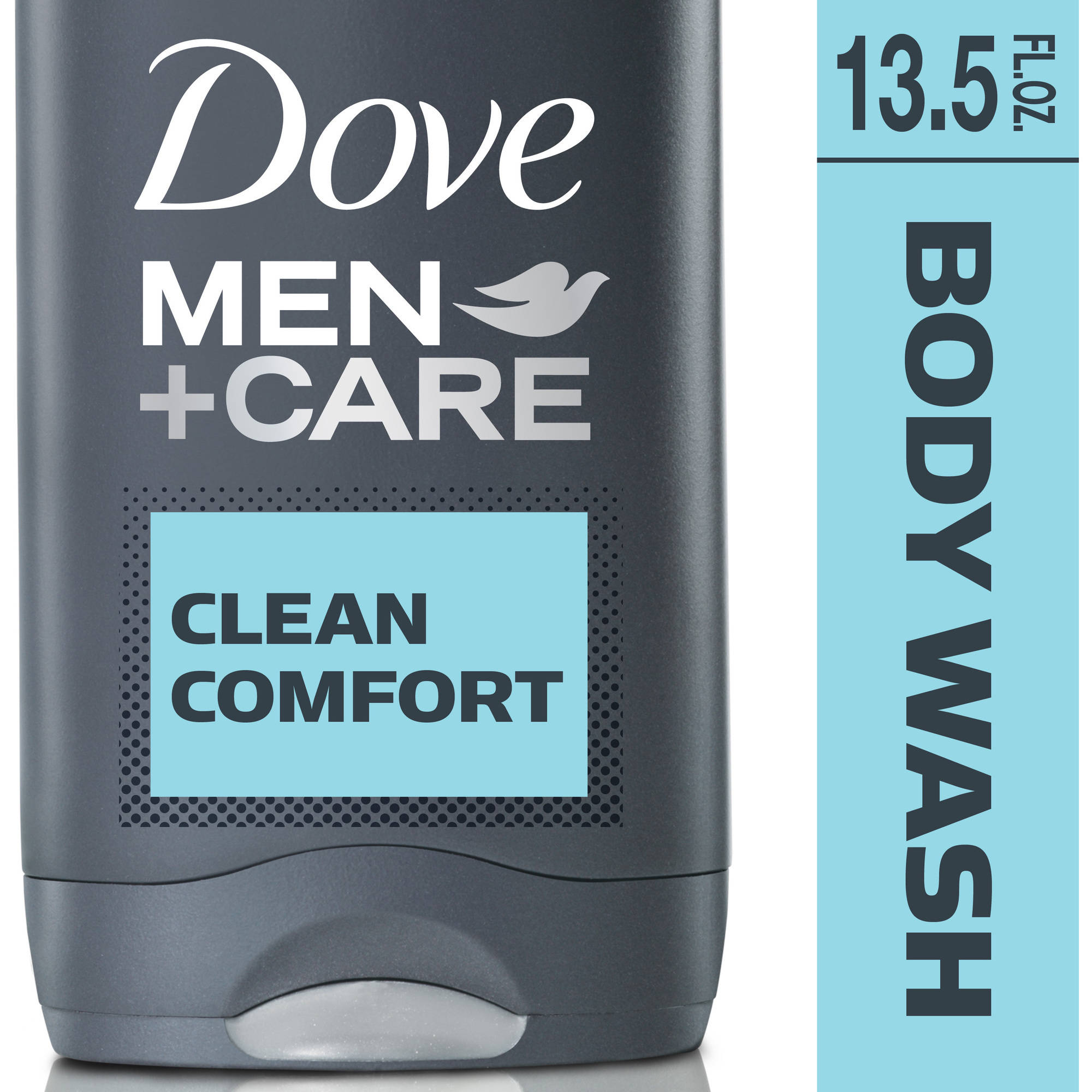 Dove Men+Care Clean Comfort Body and Face Wash, 13.5 fl oz