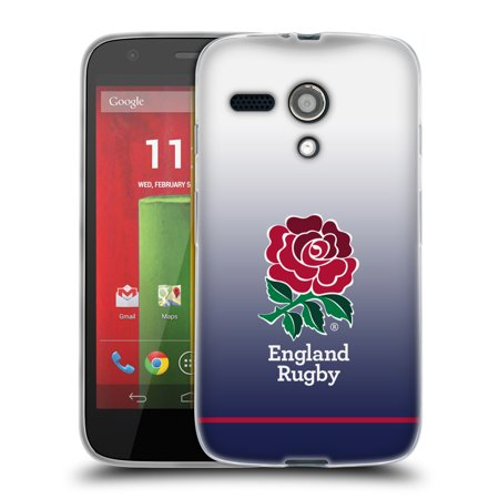 09 Home Rugby (OFFICIAL ENGLAND RUGBY UNION 2017/18 KIT SOFT GEL CASE FOR MOTOROLA PHONES 2 )