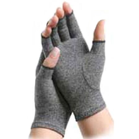 Hands Media - IMAK Compression Open Finger Arthritis Glove Over-the-Wrist Hand Specific Pair Medium, 8 Pairs