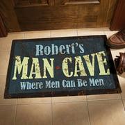 Personalized Man Cave Doormat
