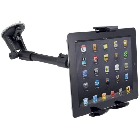 52ac6b25952107 Robust Windshield Tablet Car Mount or Truck Mount Window Holder and  Adjustable Arm Extender for Samsung