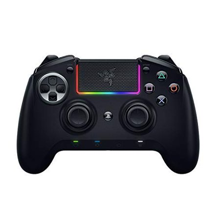 Razer PS4 Game Controller Raiju Ultimate: Ergonomic Multi-Function Button Layout - Hair Trigger Mode - Allows Advanced Customization - Bluetooth&Wired (4 Page Layout)