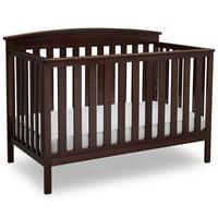 Delta Children Gateway 4-in-1 Convertible Crib Dark Chocolate