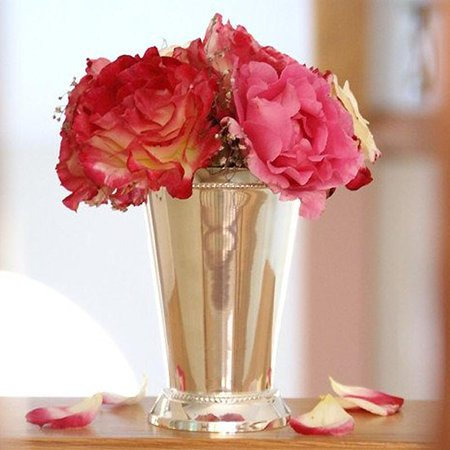Efavormart Silver Mint Julep Cups Decoration Vases 5