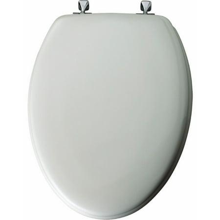 - Mayfair Elongated Enameled Wood Toilet Seat