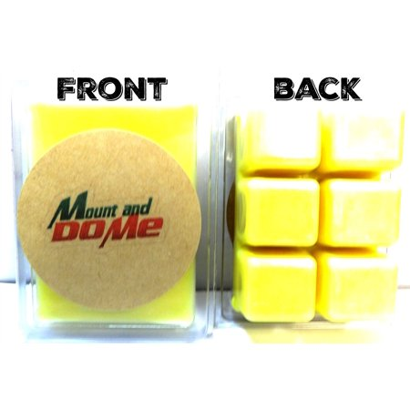 Mountain Dew Soda Aroma 3.2 Ounce Pack of Soy Wax Tarts - NOVELTY Scent Brick, Wickless Candle Mt. Dew Soda Aroma