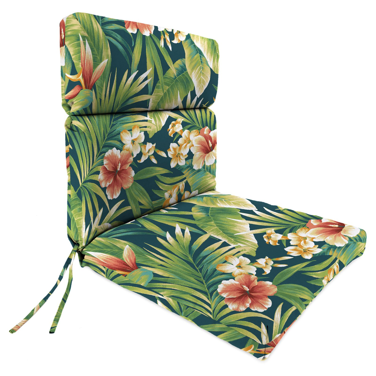Jordan Manufacturing 44 in. Double Hinged Outdoor Cypress Chair Cushion