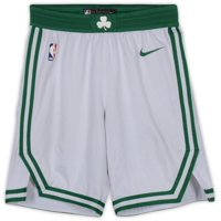 Guerschon Yabusele Boston Celtics Game-Used #30 White Shorts from the 2018-19 NBA Season - Size 46+2 - Fanatics Authentic Certified