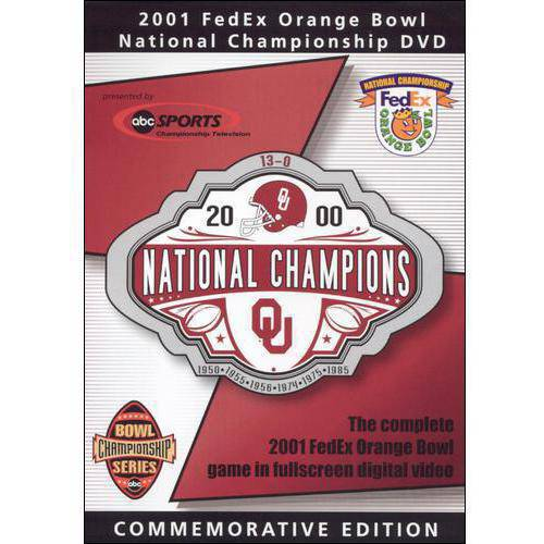 The 2001 FedEx Orange Bowl: National Championship - Oklahoma (Commemorative Edition) (Full Frame)