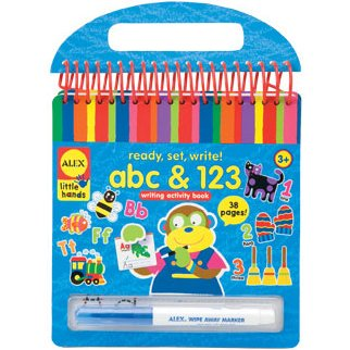 Best ALEX Toys Little Hands Ready, Set, Write and Wipe! ABC and 123 deal