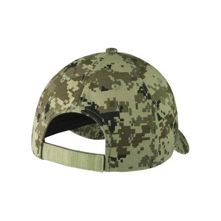 Top Headwear Colorblock Digital Ripstop Camouflage Cap - Grey Camo/Grey - image 1 of 2