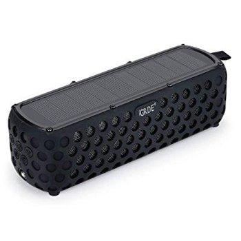 GRDE Portable Wireless Solar Bluetooth 4.0 Speakers