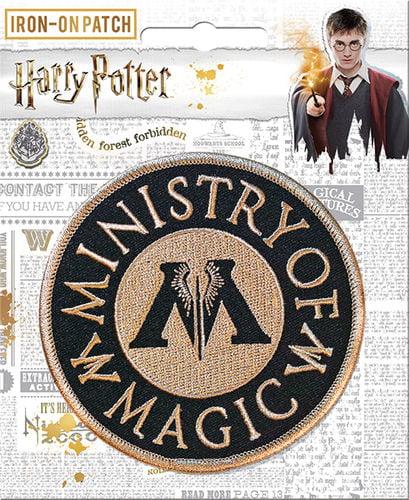 Ata-Boy Harry Potter Ministry of Magic 1//2 Full Color Enamel Pin