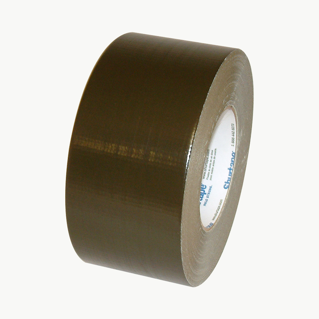 Shurtape PC-618 Industrial Grade Duct Tape: 3 in. x 60 yds. (Olive Drab)