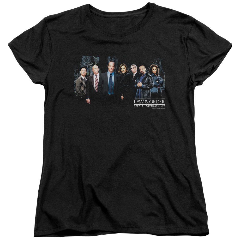 Law & Order:SVU Cast Womens Short Sleeve Shirt