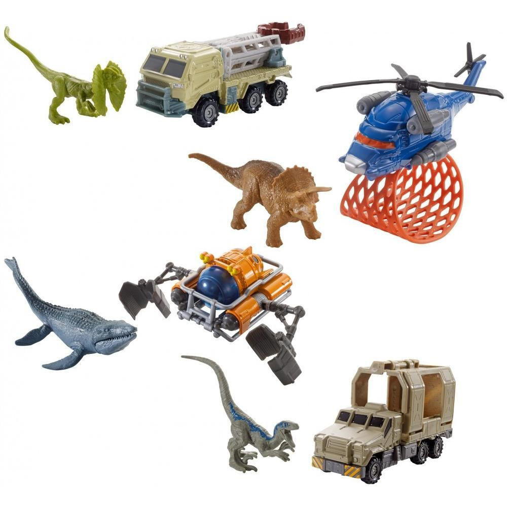 Matchbox Jurassic World Dino Transporters Assortment