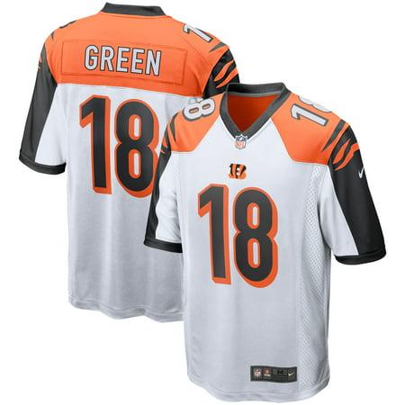 A.J. Green Cincinnati Bengals Nike Game Jersey - White - Walmart.com a3fbbe726