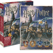 Aquarius Harry Potter Hogwarts 1000pc Jigsaw Puzzle
