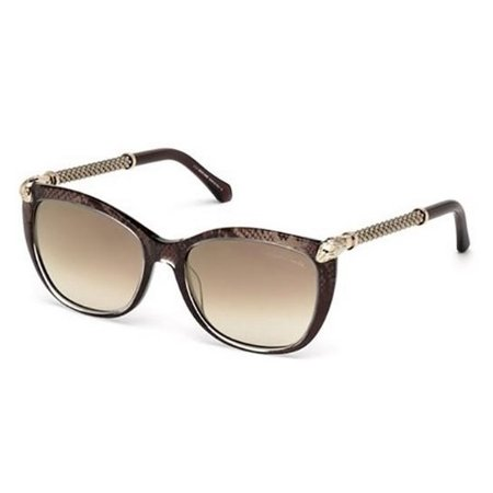 ROBERTO CAVALLI Sunglasses RC978S TALITHA 50G dark brown-other / brown