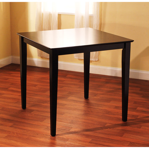 Counter Height Dining Table, Black