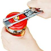 Adjustable Bottle Openers Stainless Steel Manual Can Opener Jar Opener Lid Opener Kitchen Tool Accessories