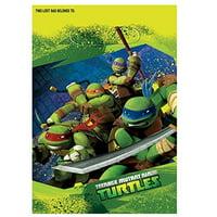 Teenage Mutant Ninja Turtles Party Treat Bags, 9.25 x 6.5 in, 8ct