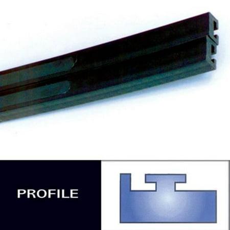 - Hiperfax 18 Profile #11 Teflon Slides - 52in.  - Black