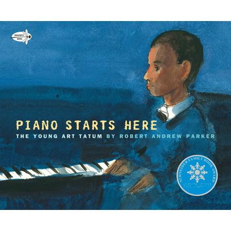 Tatum Autograph - Piano Starts Here : The Young Art Tatum