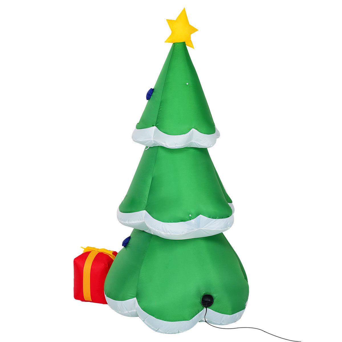 Gymax 6FT Inflatable Christmas Tree w/ Gift Boxes Lighted Christmas Decor - image 6 of 7
