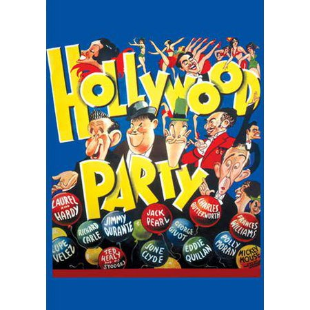 Hollywood Party (Vudu Digital Video on Demand) (Halloween Parties In Hollywood 2017)