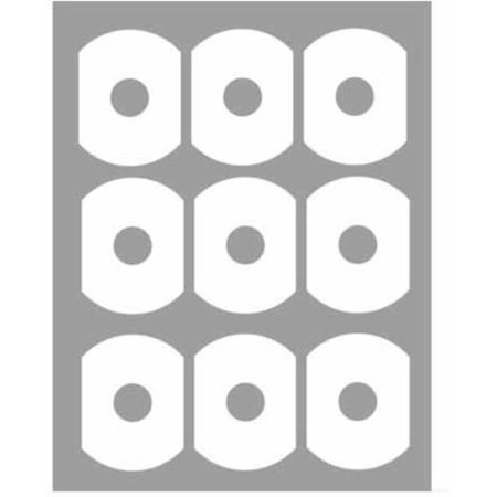 universal inkjet avery 5371 compatible laser inkjet matte white