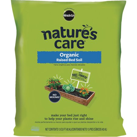 miracle gro natures care raised bed organic garden soil - Walmart Garden Soil