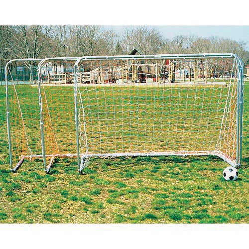 Goal Sporting Goods Striker Steel Telescoping Soccer Goal