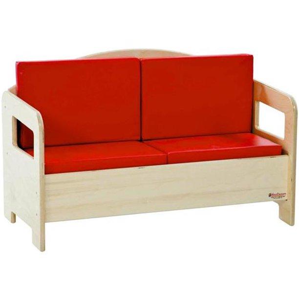 Wood Designs 31600 - Childrens Furniture - Sofa - Walmart.com