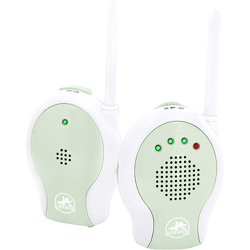 Levana - Wireless Audio Baby Monitor with Sound Indicator LEDs