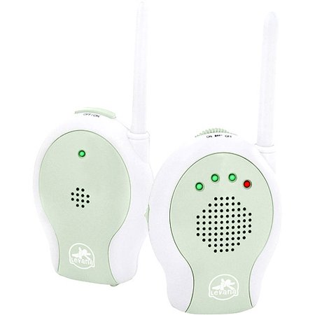 levana wireless audio baby monitor with sound indicator leds. Black Bedroom Furniture Sets. Home Design Ideas