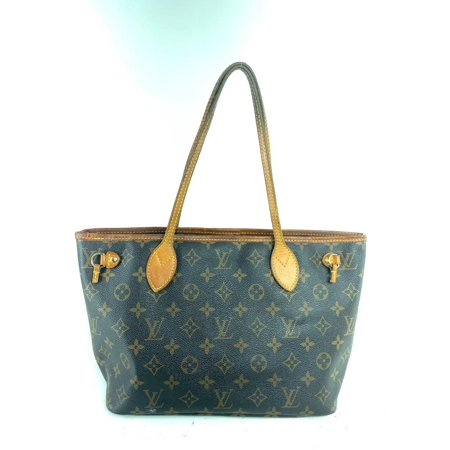 Louis Vuitton Monogram Neverfull Pm Small Tote 1LVA71