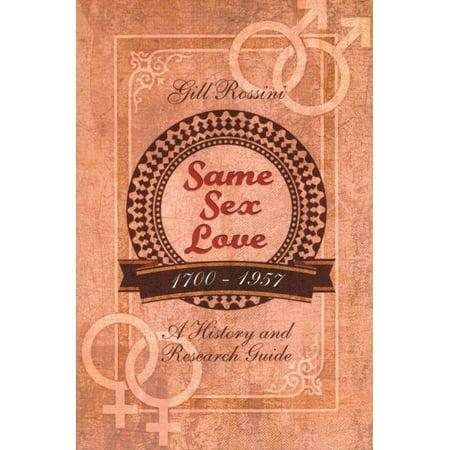 Same Sex Love 1700 1957