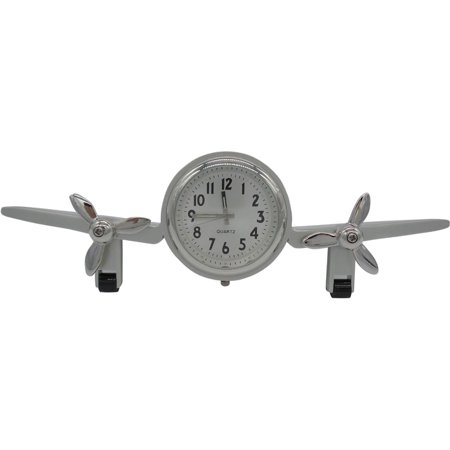 Jet Airplane Clock (Metal Airplane Clock)