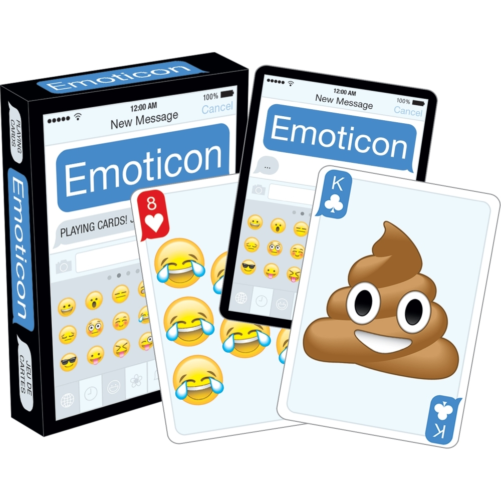Emoji Dirty Playing Cards More Humor By Nmr Calendars Walmart