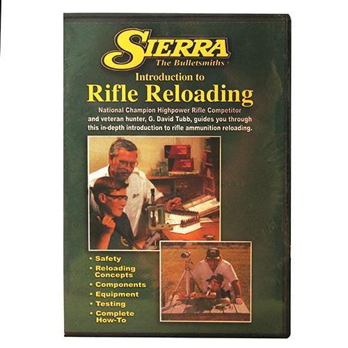 49343 Sierra Reloading DVD by Sierra