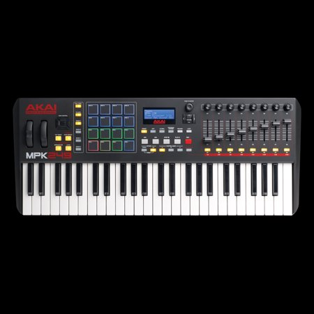 akai professional mpk249 49 key usb midi keyboard drum pad controller with lcd screen. Black Bedroom Furniture Sets. Home Design Ideas
