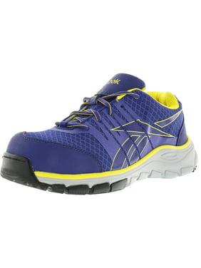 wholesale dealer 1c590 54c68 Product Image Reebok Women s Arion Work Purple Ankle-High Fabric Running  Shoe - 8W