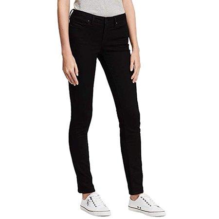 Calvin Klein Jeans Women Ultimate Skinny Low Rise Classic 5 Pocket Denim Pants Flap Pocket Skinny Jean